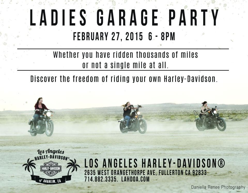 Garage Party 2-27-15